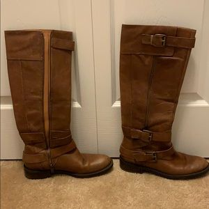 Brown Knee Boots (8.5)